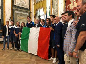 Bucci e Anzalone premiano i campioni del Rowing Club Genovese
