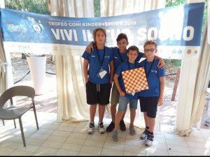 Liguria d'oro al Trofeo Coni con il team di Varazze