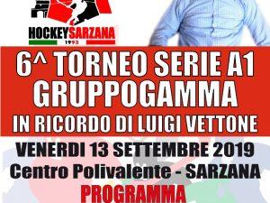 Venerdì a Sarzana parte il Trofeo Gamma