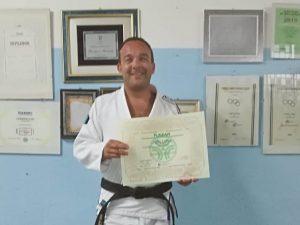 Andrea Molinari nuovo insegnante Sakura Arma di Taggia