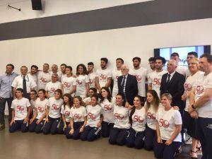 La Regione Liguria festeggia la Pro Recco Judo per i suoi 50 anni
