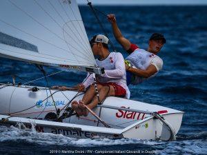 Tommaso Cilli e Bruno Mantero campioni Italiani classe 420