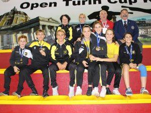 Open di Basilea: sette medaglie per il Karate Club Savona