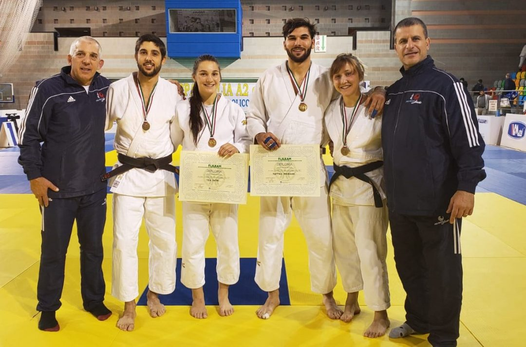 Pro Recco Judo plurimedagliata in Coppa Italia