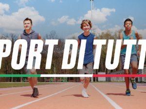 """Sport e Salute SpA: al via il nuovo programma """"Sport di tutti"""". Aperte le candidature di ASD/SSD"""