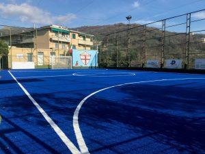 """A Genova il primo campo sportivo """"4.0"""""""