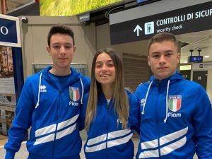 Matilde e Lorenzo Callegari a Belgrado per i Mondiali WKC