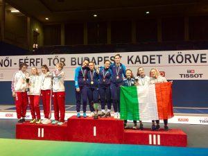 Sofia Raggio sul podio a Budapest