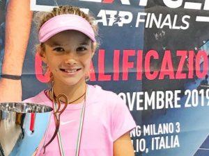 Angelica Sara firma le Junior Next Gen Finals