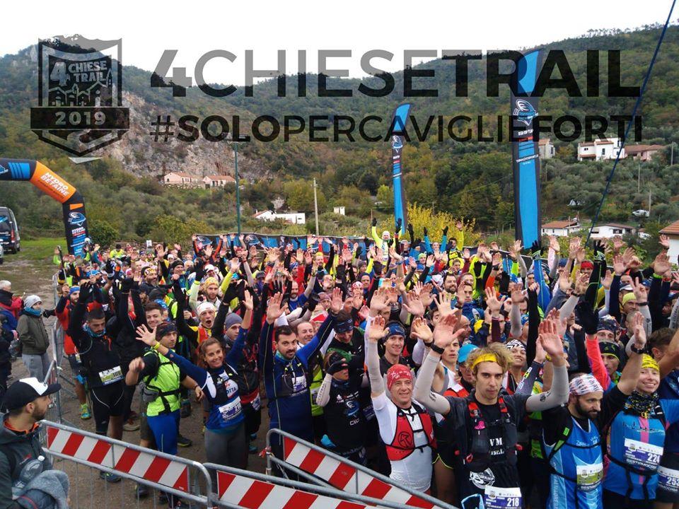 4Chiese Trail: più di 230 persone sotto la pioggia a Loano - Liguriasport
