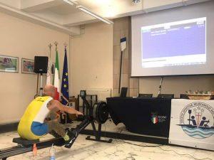 Il para-rower Mirabile chiude il 2019 con un nuovo record (VIDEO)