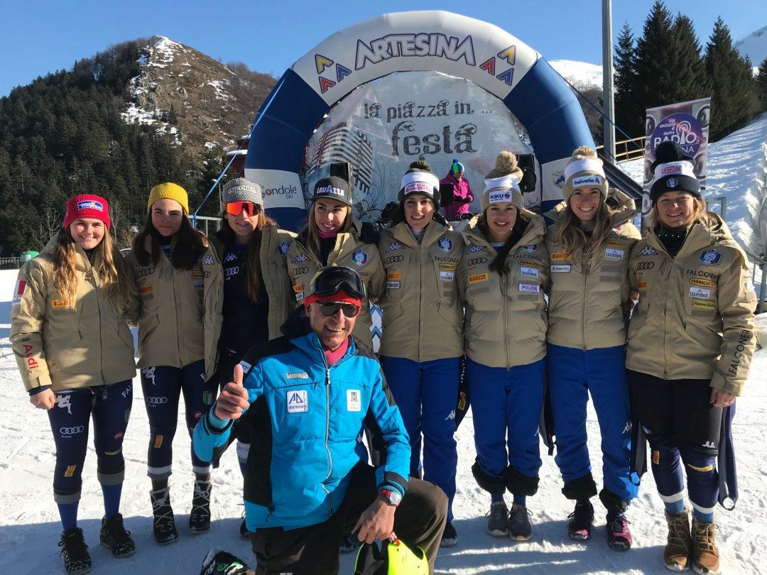 Artesina capitale dello Sci Alpino per due giornate