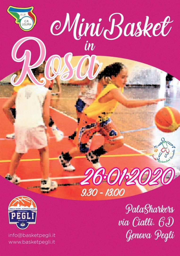 """""""Minibasket in Rosa"""": domenica tappa a Pegli"""