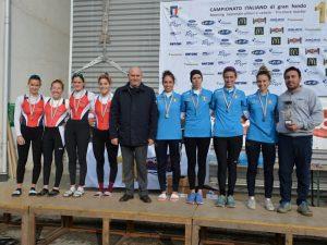 Rowing d'oro al campionato di fondo di Pisa