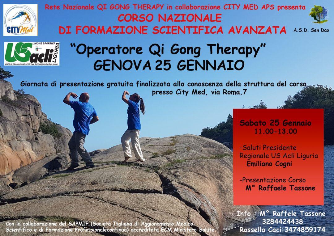 Corso per operatore Qi Gong Therapy