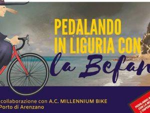 """Lunedì """"Pedalando in Liguria con la Befana per l'Ospedale Gaslini"""""""