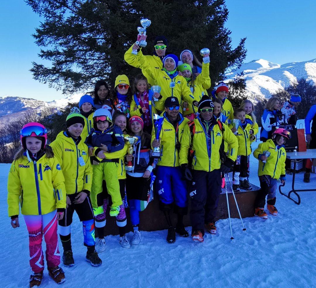 Trionfo Grizzly Snow Team a Lurisia
