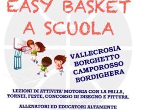 """""""Easy Basket a Scuola"""": progetto a Imperia"""