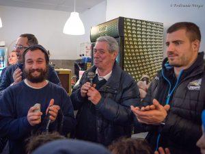 Tommaso Castello star alla nuova club house delle Vespe
