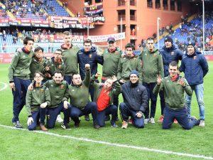 Il Ferraris applaude i ragazzi del Genoa For Special