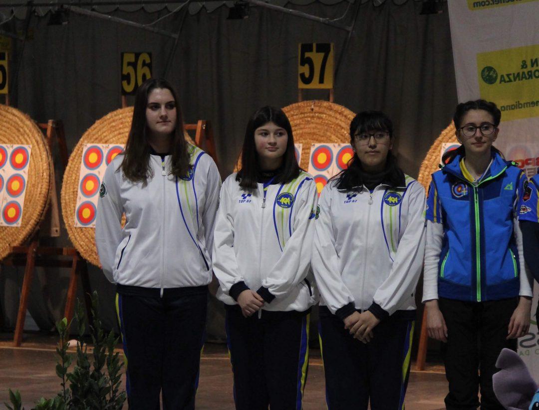 Associazione Genovese Arcieri medagliata a Rimini
