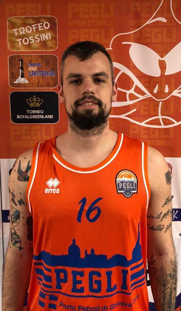 Lorenzo Nicoletti rinforzo per il Basket Pegli