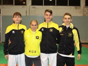 Un febbraio d'oro per il Karate Club Savona