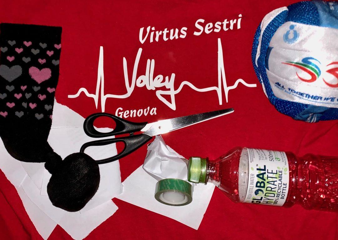 La Virtus Sestri non si ferma: giochi a distanza per le atlete e challenge finale