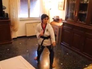Lanterna Whatsapp Poomse: il Taekwondo si fa anche online!