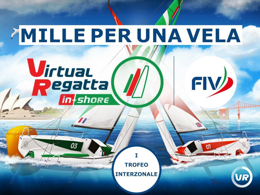 Mille per una Vela: al via il primo trofeo interzonale di e-sailing