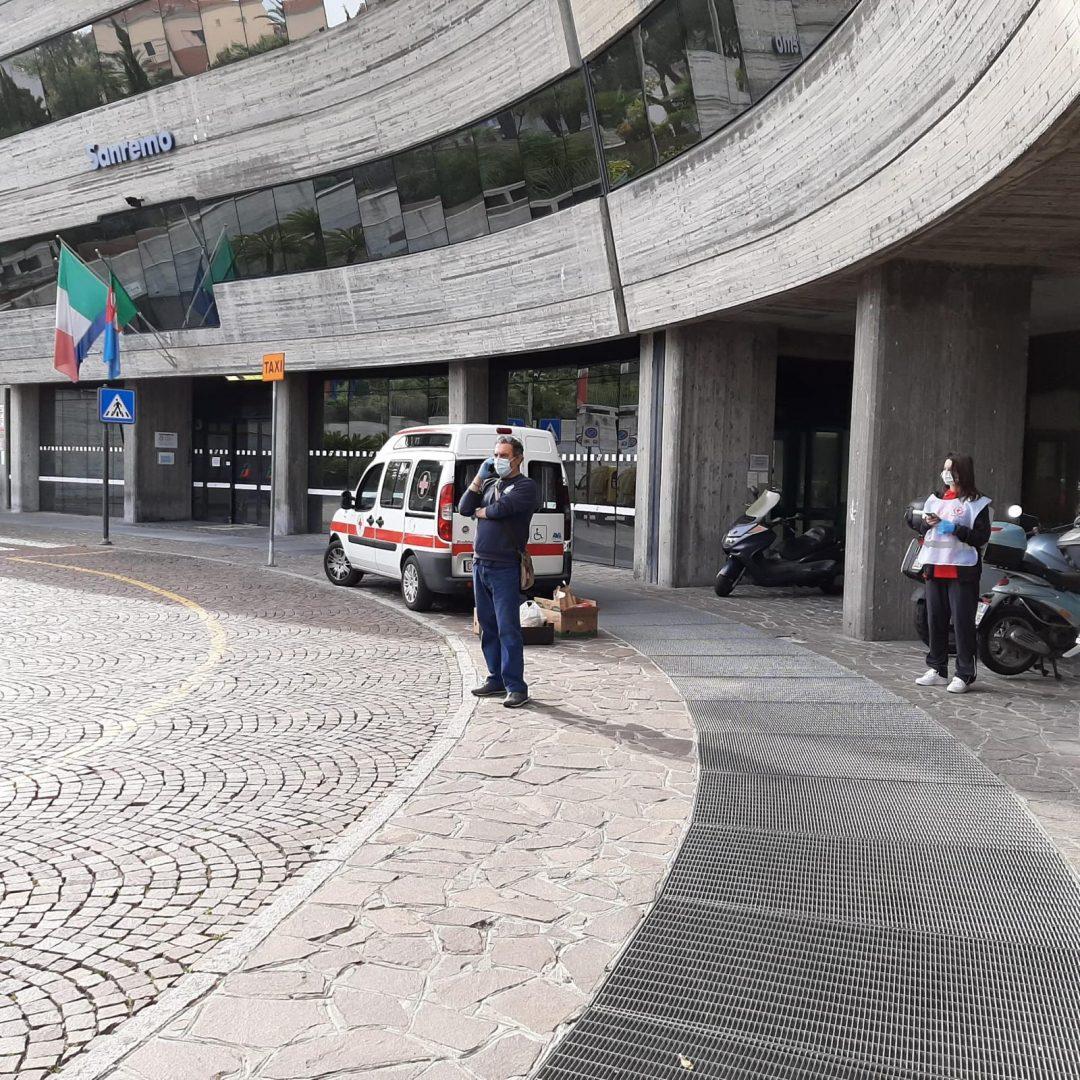 Croce Rossa e SanremoRugby insieme contro il Covid-19