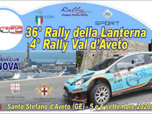 Il Rally della Lanterna taglia il nastro della 36a edizione