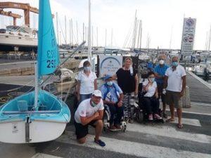 Ripartono attivita per i disabili alla LNI Chiavari e Lavagna