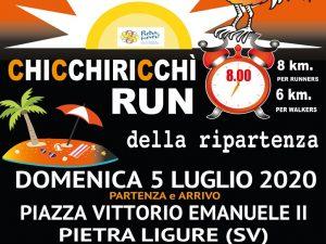 La Chicchiricchì Run ricomincia da Pietra Ligure