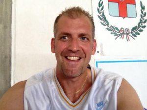 Andreas Brignoli al Day Camp del Basket Pegli
