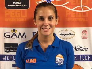 Lara Pozzato nello staff tecnico del settore femminile Basket Pegli