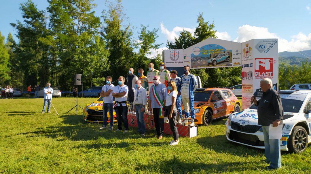 Scattolon e Cuneo vincono il Rally della Lanterna
