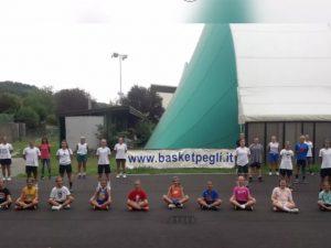 Ventisette atlete del Basket Pegli in stage a Ovada