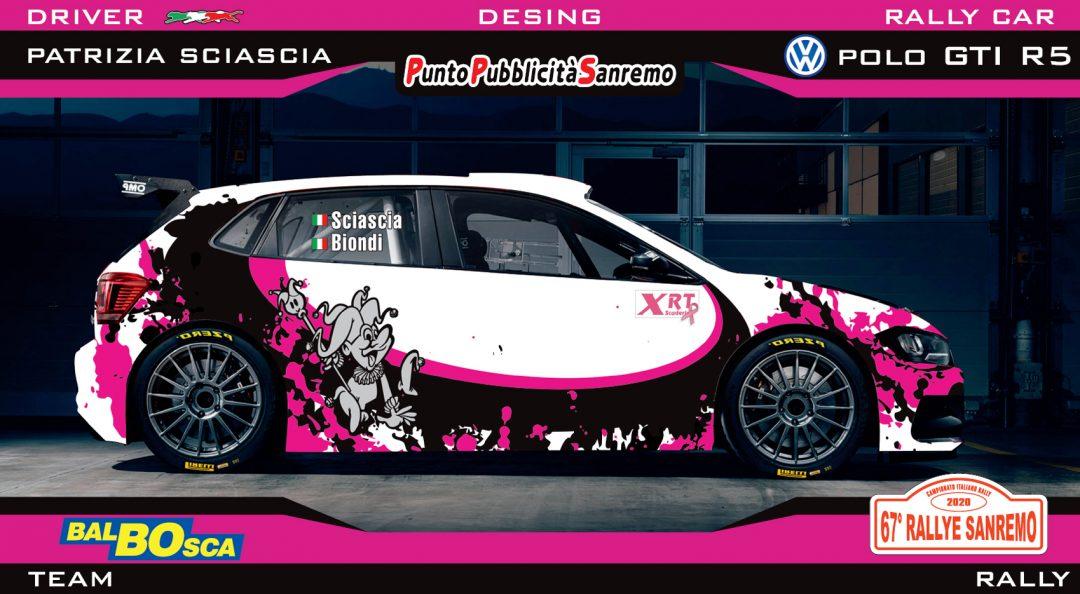 Patrizia Sciascia e Cristiana Biondi su XRT al 67° Rally di Sanremo