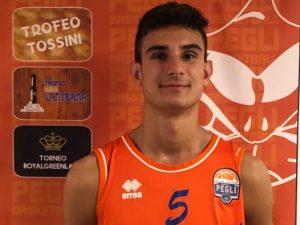 Alberto Porcu nuovo rinforzo per il Basket Pegli