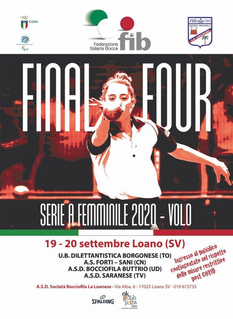 A Loano il Final Four della Serie A femminile volo