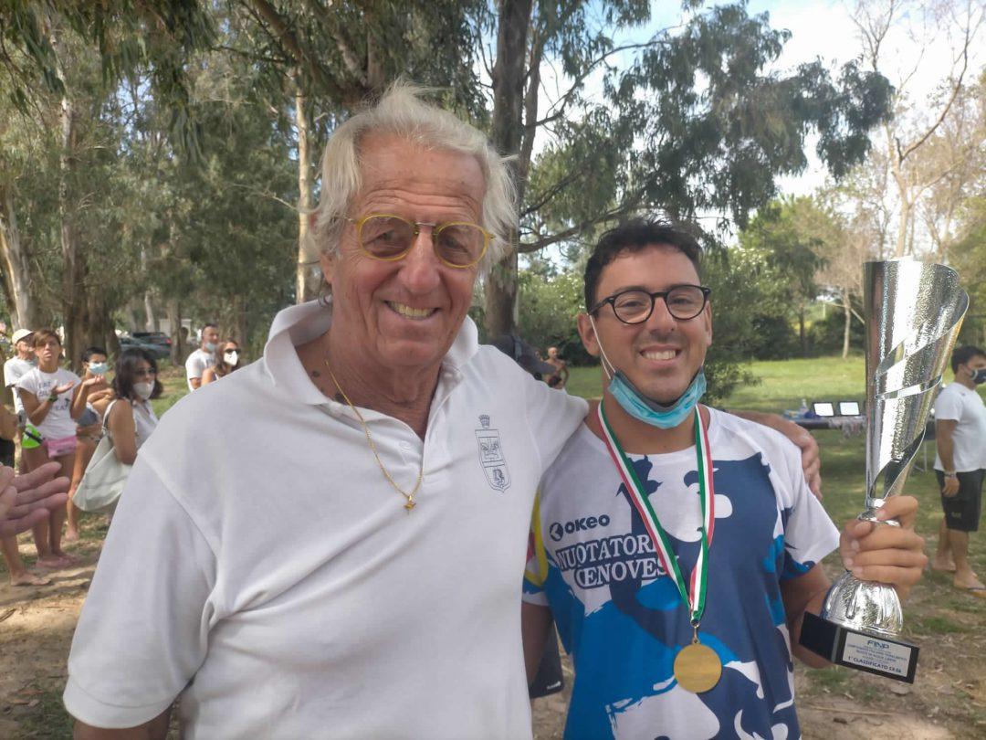 Sciaccaluga vince il titolo italiano FINP in acque libere