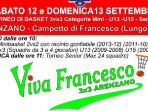Ad Arenzano il Torneo 3×3 Viva Francesco