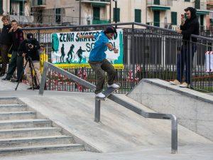 Skateboard a Pra': grandi performance per Duman e Bonetti