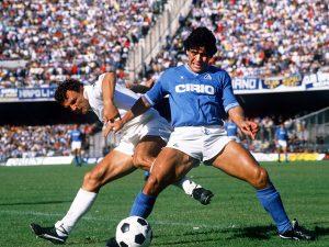 "Diego, la ""pelota"" ti ringrazia"