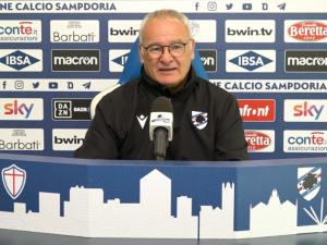 Ranieri su Lazio-Samp: «Sarà dura, squadra di livello. Stiamo recuperando tutti i pezzi»