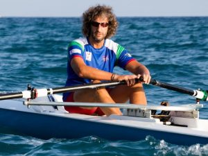 Moscatelli primo Master all'Italian Rowing Challenge