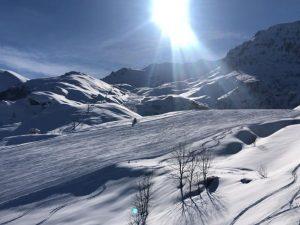 Artesina pronta per l'apertura del 15 febbraio. Innevamento perfetto su tutto il Mondolé Ski