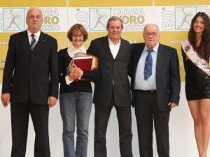 Targa d'Oro: il presidente dei «primi per sempre»