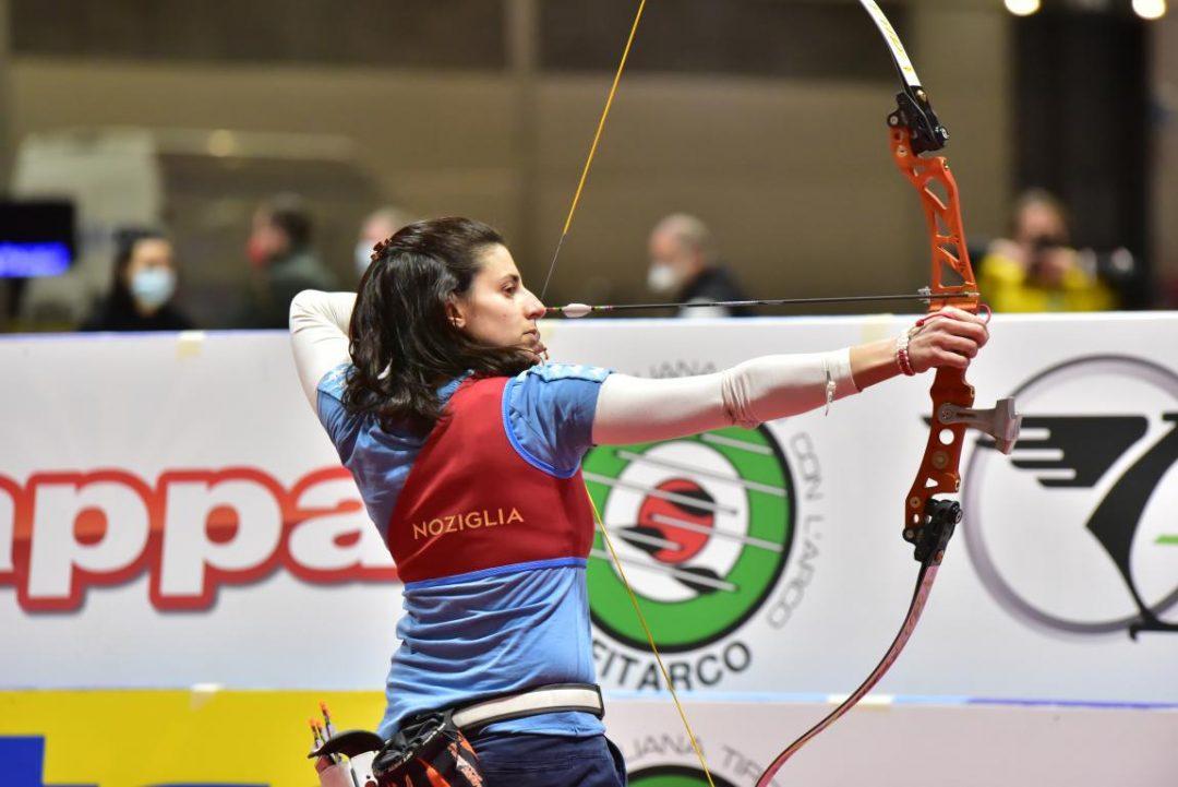 Tricolori Indoor: Cinzia Noziglia campionessa d'Italia nell'Arco Nudo